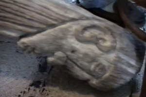 Peter Goode's carving